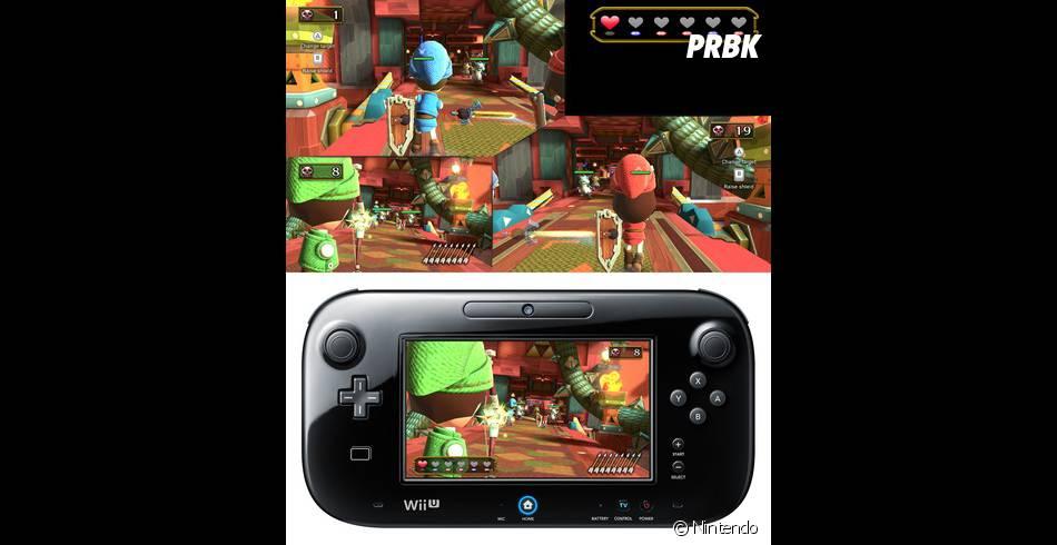 Le jeu Nintendoland présent dans le Premium Pack
