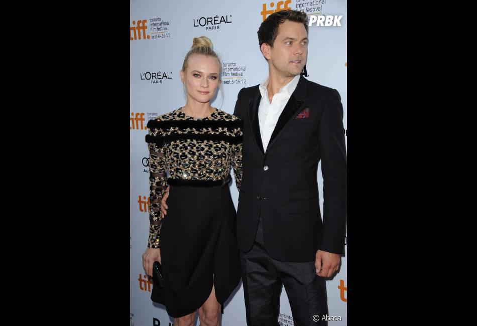 """Diane Kruger peut toujours compter sur son """"héros"""" Joshua Jackson"""