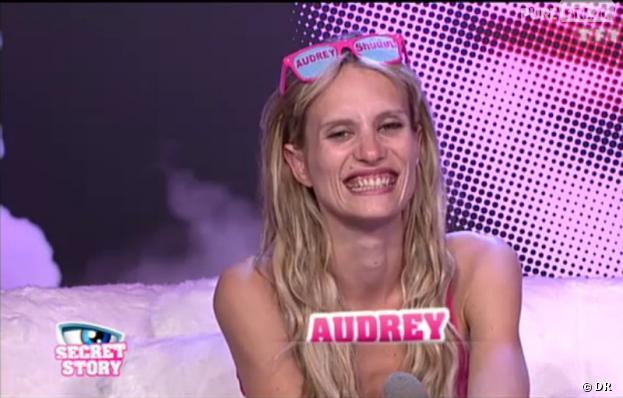 Le sourire d'Audrey ne fait pas l'unanimité !