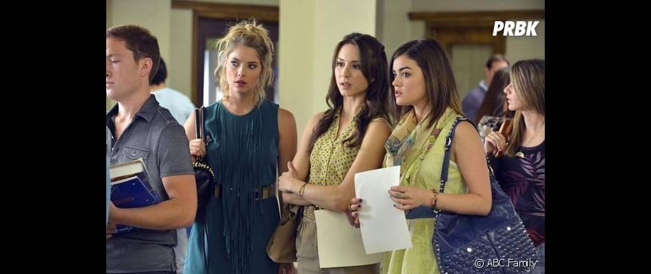 Aria, Hanna, Spencer et Emily seront de retour à l'été 2013 avec la saison 4 de  Pretty Little Liars