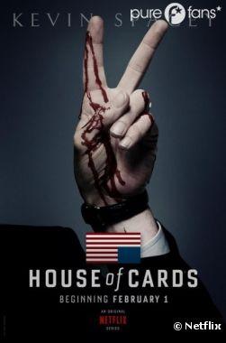 Premier poster de la nouvelle série House of Cards