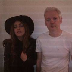 Lady Gaga à Londres avec... Julian Assange de Wikileaks ! WTF ? (PHOTO)