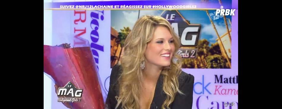 Marine Boudou s'en est plutôt bien sortie pour sa première de Hollywood Girls, Le Mag