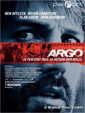 Argo sort au cinéma le 7 novembre
