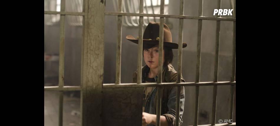 Carl continue de nous étonner dans Walking Dead