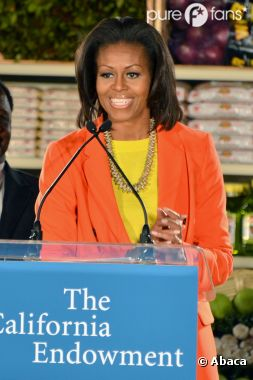Michelle Obama mesure 1m80 !