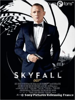 Skyfall en tête du box-office