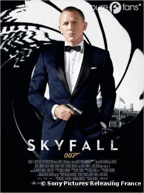Skyfall numéro 3 du box-office 2012 !