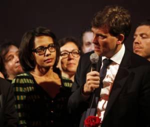 Audrey Pulvar et Arnaud Montebourg, ensemble depuis plus de 2 ans
