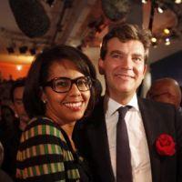 Audrey Pulvar et Arnaud Montebourg : rupture entre la journaliste et le ministre ! Twitter va s'amuser...