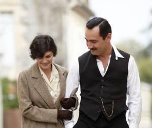 Audrey Tautou et Gilles Lellouche dans Thérèse Desqueyroux