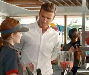 David Beckham : Star d'une publicité pour Burger King !