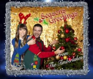 Jessica Biel et Justin Timberlake vont passer leur premier Noël en tant que mari et femme !