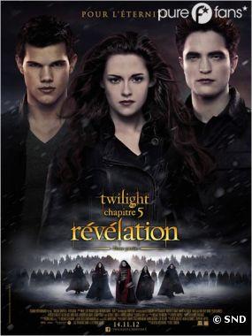 Twilight 5 n'est plus au top du box office