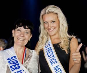 Christelle Roca, à l'élection de Super Mamie