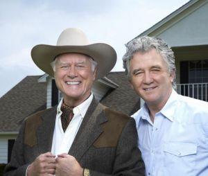 Larry Hagman et Patrick Duffy, les deux acteurs cultes de Dallas