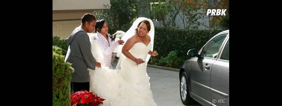 Bailey fuit son mariage dans Grey's Anatomy