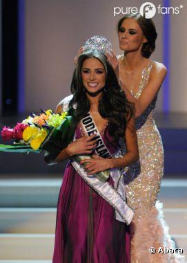 Miss Univers 2012 : C'est Olivia Culpo qui porte la couronne !