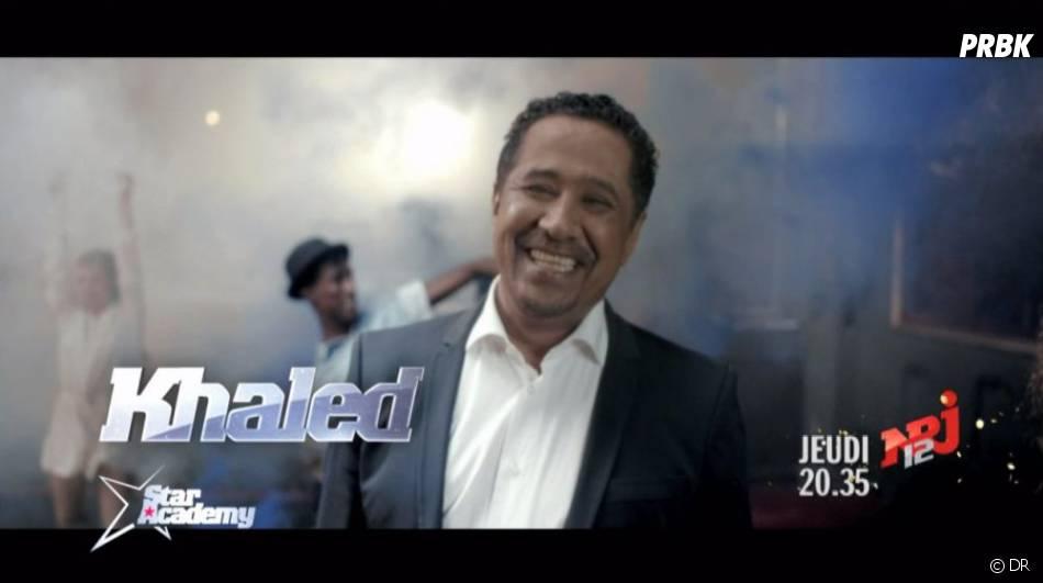 Khaled interprétera C'est la vie sur le plateau de la Star Academy 2012