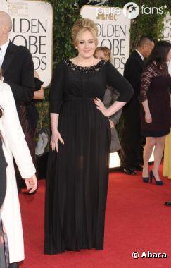 Adele a fait son come-back post-grossesse aux Golden Globes