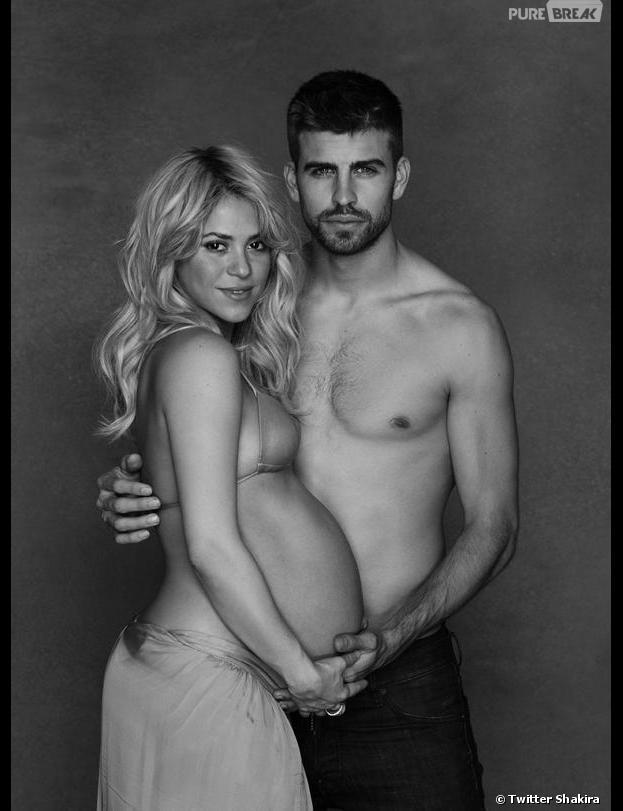 Shakira et Gérard Piqué se dénudent pour l'UNICEF.