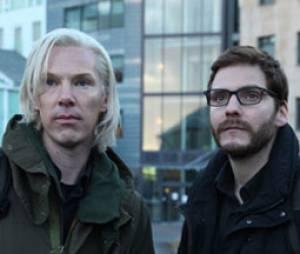 Benedict Cumberbatch en Julian Assange