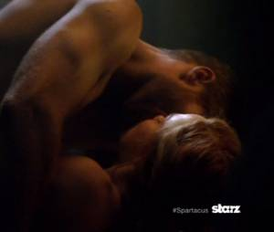 Le sexe sera toujours au rendez-vous dans Spartacus