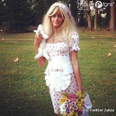 Zahia inspire Twitter