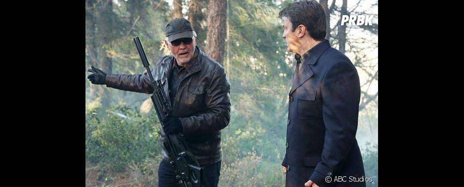 Première image de Castle et de son père dans le double épisode de la saison 5