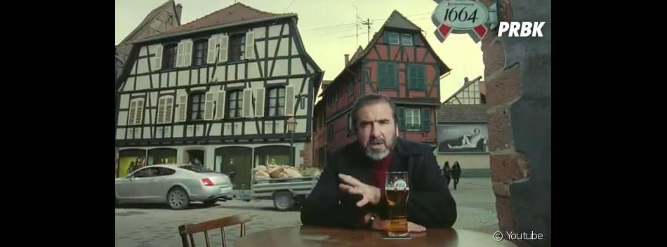 Pour Eric Cantona, les houblonniers sont aussi célèbres que les footballeurs anglais.