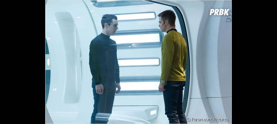 Kirk face au méchant dans Star Trek Into Darkness
