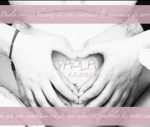 Laura Pausini vient d'accoucher d'une petite Paola.