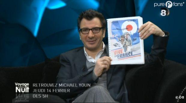 Michaël Youn va lire son script de Vive la France pendant 4h sur D8 !