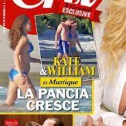 Kate Middleton enceinte et en bikini : les photos publiées en France