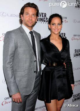 Jennifer Lawrence et Bradley Cooper sont inséparables