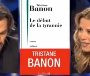 Aymeric Caron critique le dernier livre de Tristane Banon sur le plateau d'ONPC