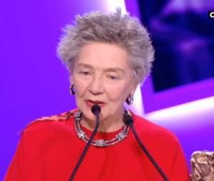 Un peu trop long le discours d'Emmanuelle Riva ?