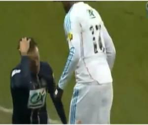 David Beckham refait son brushing pendant PSG/OM