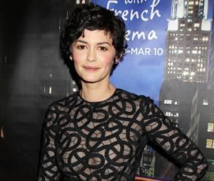 Audrey Tautou dévoile sa poitrine à New York
