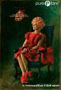 Effie, toujour au top de la mode façon Capitole dans Hunger Games 2