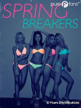 Nouveaux posters flashy pour Spring Breakers