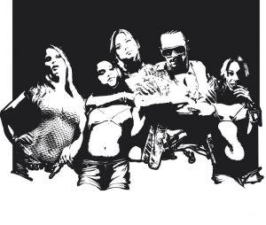 Le casting de Spring Breakers sur un nouveau poster