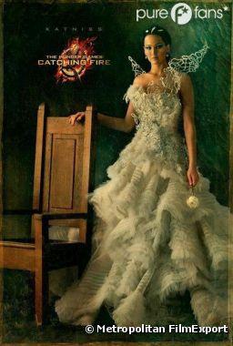 Katniss se rebelle sur un poster d'Hunger Games 2