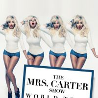 Beyonce : pin-up blonde sexy pour le Mrs Carter Show World Tour
