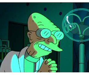 Jean-Pierre Moulin est la voix du Professeur Farnsworth dans Futurama