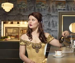 Emilie de Ravin de Once Upon a Time à Paris en décembre 2013