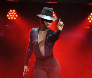 Alicia Keys a mis le feu à LA, ce mardi 12 mars