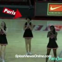 Paris Jackson pom-pom girl pour une équipe de NFL
