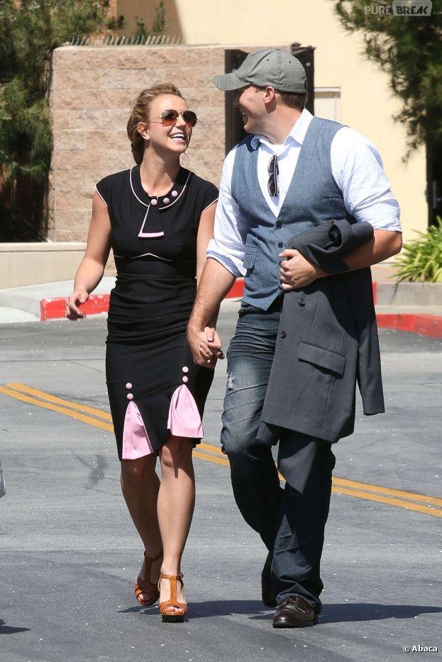 Britney Spears se balade avec son nouveau petit-ami