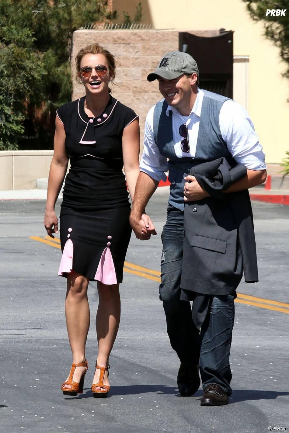 Britney Spears se marre bien avec son David